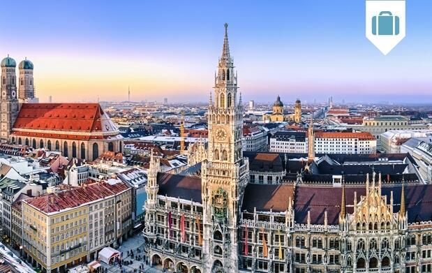 3 noches en Munich en hotel 3*