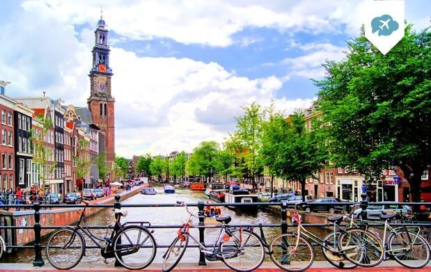 3 noches en Amsterdam 3* + Actividad