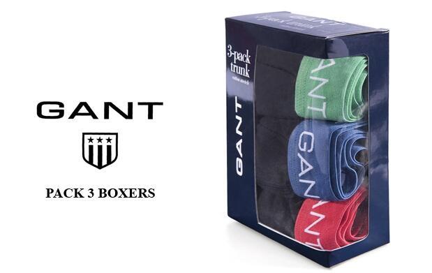 Pack de 3 boxers GANT