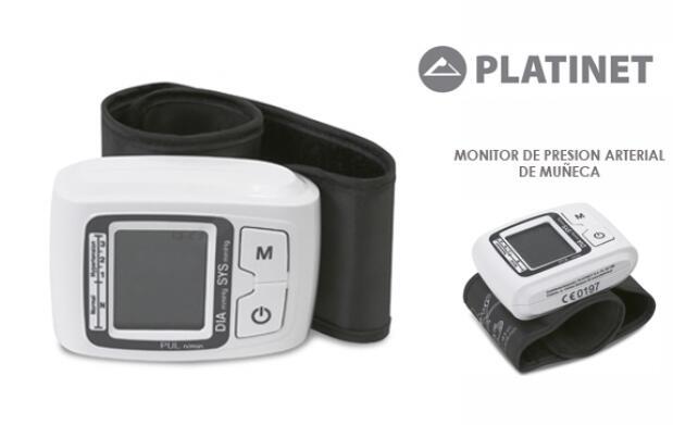 Monitor de presión arterial de muñeca