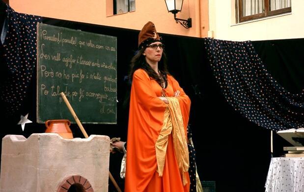 Visita al monasterio y teatro infantil