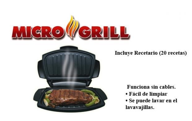 Parrilla para microondas Micro Grill