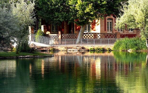 Lago termal para 2 en Termas Pallarés