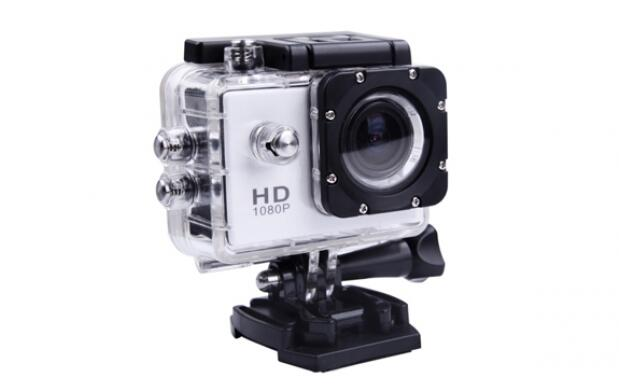 Cámara video deportiva waterproof Full HD
