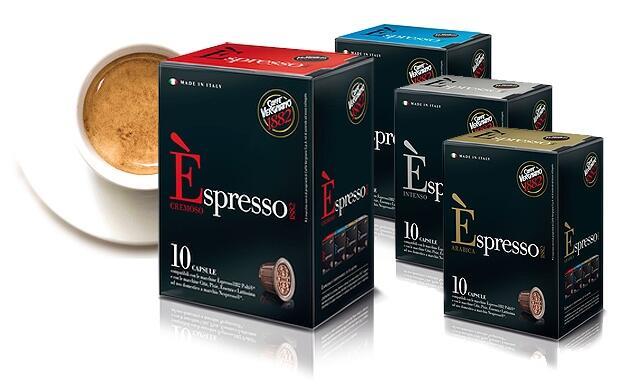 120 cápsulas de café espresso compatibles