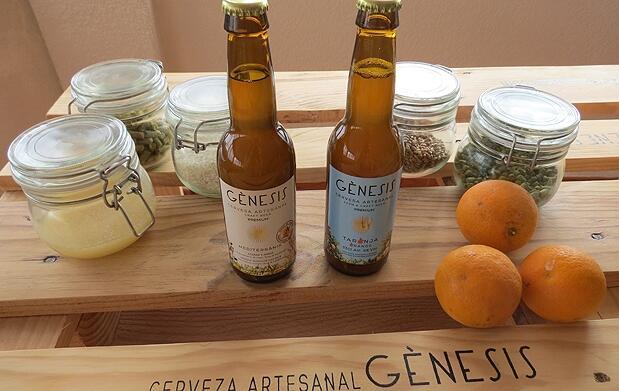 Visita cata y almuerzo en Cerveza Gènesis