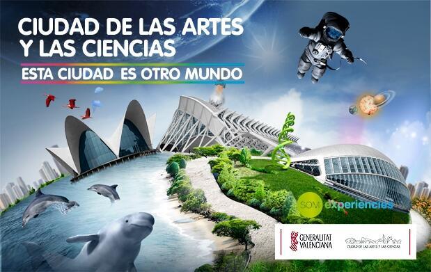 Oceanogràfic +Museo Ciencias +Hemisfèric