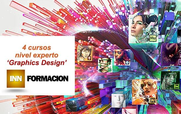 4 cursos online de diseño gráfico