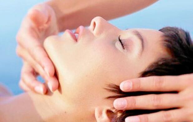 Presoterapia y masaje facial