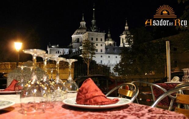 Noche y cena para dos en El Escorial