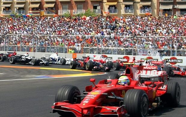 Dos entradas para la F-1 en Valencia