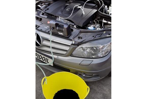 Cambiador de aceite de coche Rapid Oil