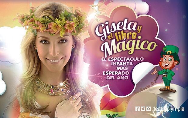 El musical infantil de Gisela en Valencia