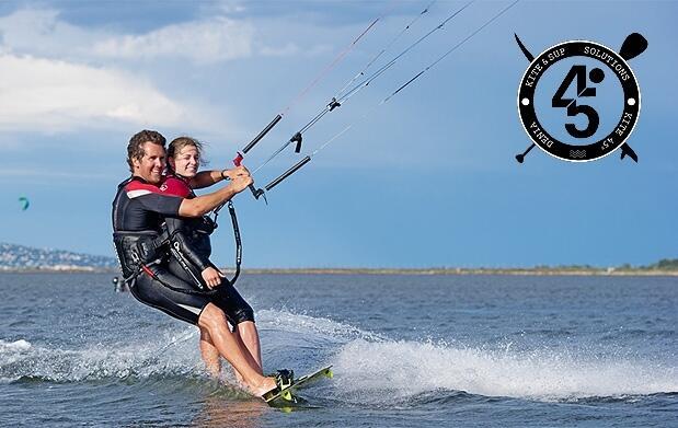 Kitesurf Tándem de 30 minutos en Dénia