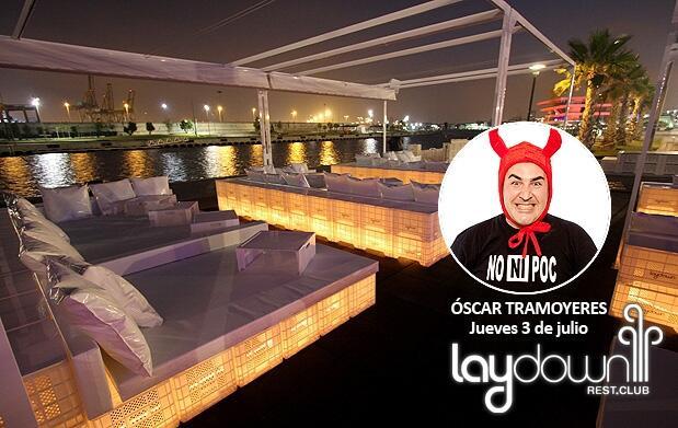 Óscar Tramoyeres + mojito en Laydown