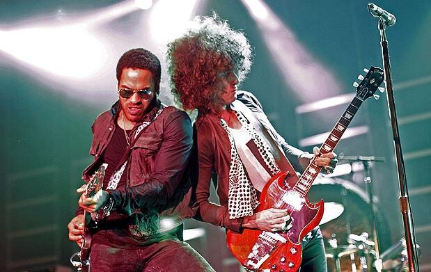 Lenny Kravitz en Valencia