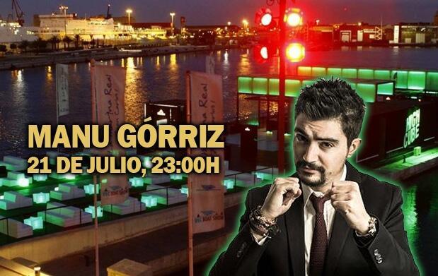 Manu Górriz + mojito en High Cube por 8€