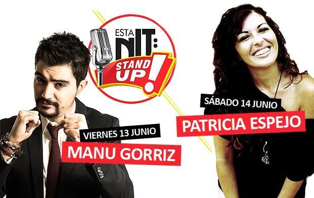 Manu Górriz y Patricia Espejo en Flumen
