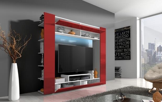 Mueble de salón con LED Epsilon