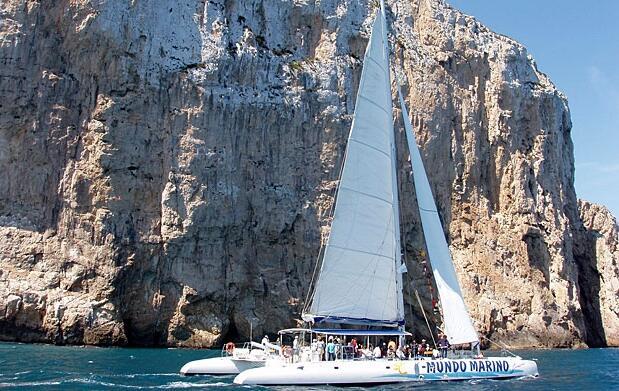 Excursión de una hora en catamarán