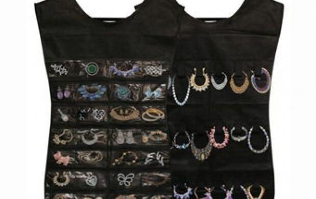 Pack de 2 organizadores: joyas y fulares
