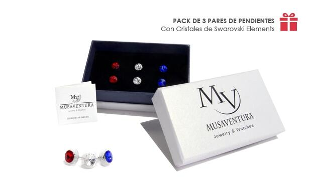 Pendientes made with Swarovski Elements