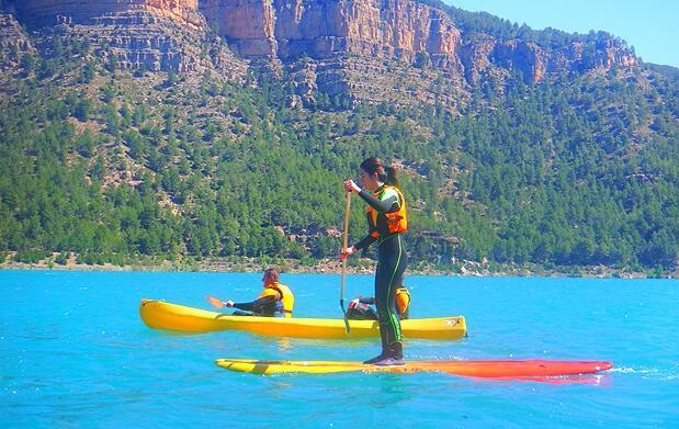 Ruta guiada en Paddle SUP en Montanejos