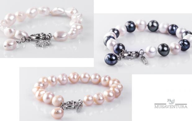 Pulsera perlas naturales varios modelos