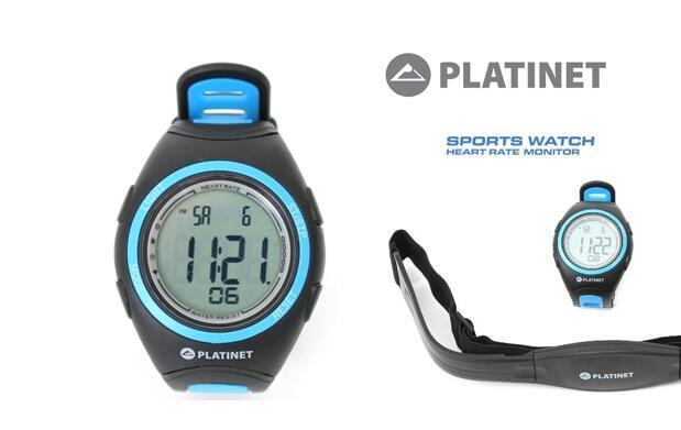 Reloj-pulsómetro con banda pectoral