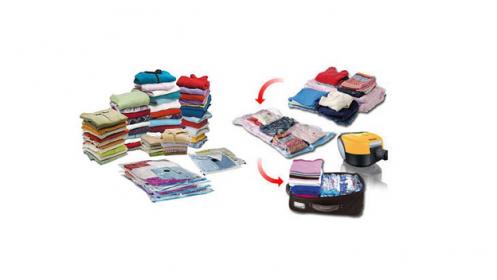 Pack Bolsas ahorra espacio, 5 o 10 unds