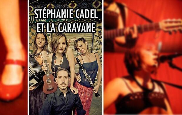Concierto Stéphanie Cadel et la Caravane