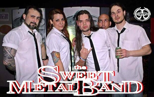 Concierto de The Sweet Metal Band