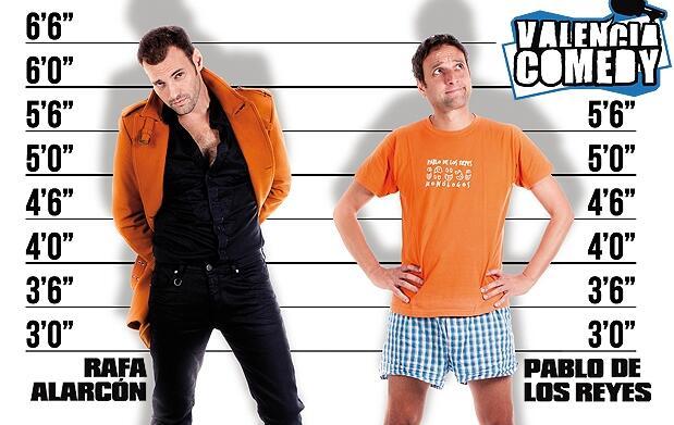 'Valencia Comedy' llega al teatro Flumen