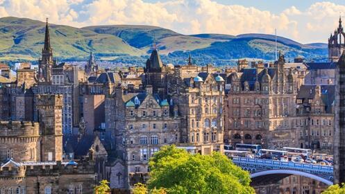 2 o 3 noches en Edimburgo con hotel y vuelos directos incluidos