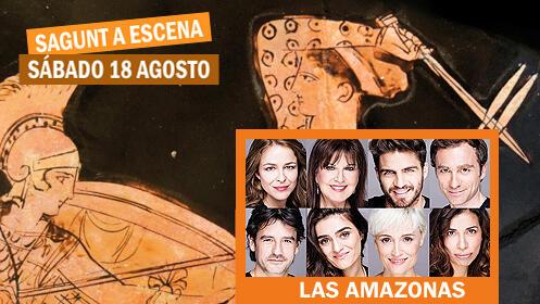 Entradas para 'Las amazonas' en el Teatro Romano (sábado 18)