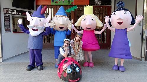 El Reino de Ben y Holly llega al Teatro Flumen de Valencia