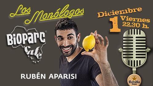 Monólogo + consumición y/o cena en Bioparc Café