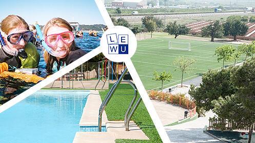 Campus de verano de LEWU en julio en Colegio Alfinach (12 a 16 años)