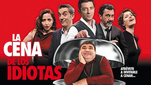 Entradas para 'La cena de los idiotas' en el Talía por 11€