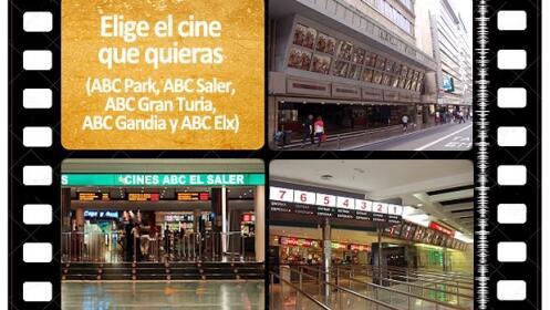 Elige pel cula cine y d a por 5 50 euros descuento 32 - Ofertas cine valencia ...
