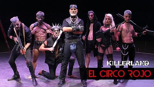 Debut de El Circo Rojo en Valencia (viernes 17 a las 21h)