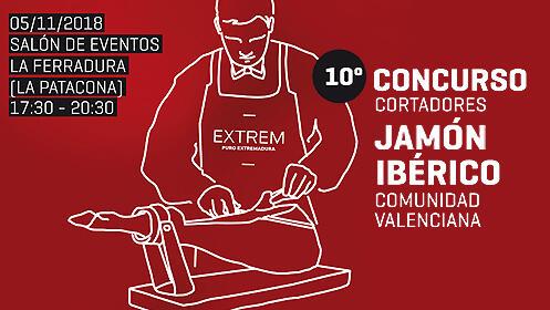 Concurso de cortadores de jamón + cata de ibéricos, cervezas y vinos