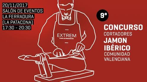 Concurso de cortadores de jamón ibérico + degustación