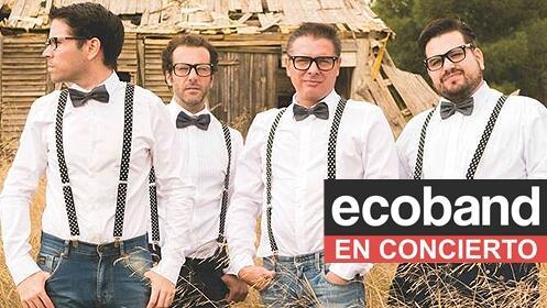 Concierto de Ecoband + Tú Ves Ovnis en Rock City con 50% de descuento