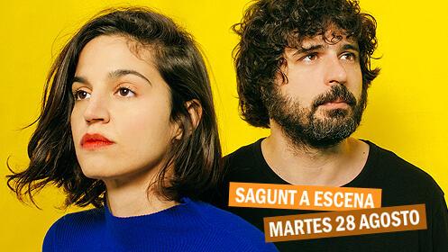 María Arnal y Marcel Bagés en el Teatro Romano de Sagunto