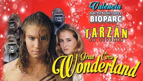 Entradas para el Circo Wonderland en Valencia