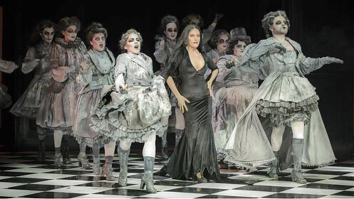 Entradas del musical 'La familia Addams' en el Teatro Olympia