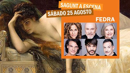 Entradas para 'Fedra' en el Teatro Romano (sábado 25)