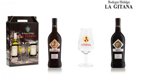 Pack navidad vinos+ catavinos Bodegas Hidalgo