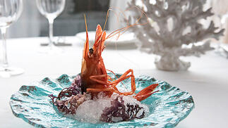 Menú gourmet en el Restaurante Agua de Mar